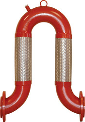 Ayvaz - Ayvaz Dilatasyon Omega U-Flex / Kaynak Boyunlu Çap:3''