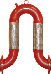 Ayvaz - Ayvaz Dilatasyon Omega U-Flex / Yivli Bağlantılı Çap:6''