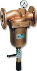 Honeywell - Honeywell F78TS-65FA Ters Yıkamalı Flanşlı Su Filtresi