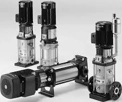 Grundfos - Grundfos HF 2 NK 100-250 (110kW) + 2E Basic (Siemens (IE3) )+CR 5-18 Yangın Hidroforu