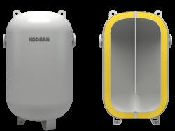 Kodsan - KBT-C 800 Soğutma Perdeli Buffer Tank