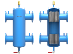 Kodsan - KPD-F 200 Flanşlı Paket Denge Tankı