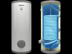 Kodsan - KXS 1000 Tek Sıra Serpantinli Isı Pompası Boyleri