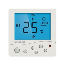 Smallart - Smallart Dijital Sıva Altı - Fancoil Termostat / SM2008FFN-L
