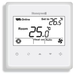 Honeywell - T6820A2001 Fan-Coil Termostat