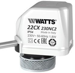 Watts - Watts Elektrotermik Aktüatör 230V, NC / WT-22CX230NC2